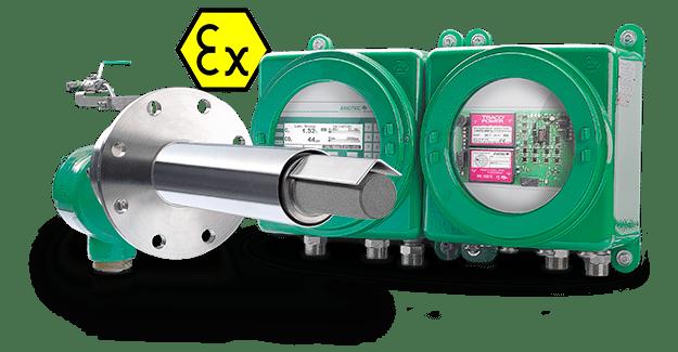 """Analizadores """"in situ"""" para medida de oxígeno y oxígeno + inquemados (COe) de ENOTEC"""